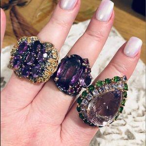 Jewelry - Listing soon🤩 amethyst ametrine chrome diopside